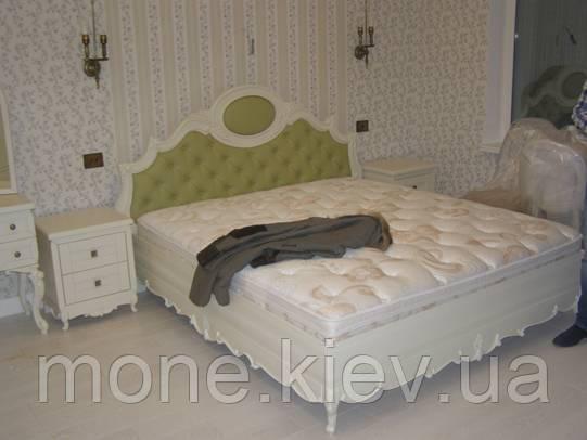 """Спальня """"Имерия"""" из ясеня двуспальная кровать"""