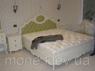 """Спальня """"Имерия"""" из ясеня двуспальная кровать, фото 2"""