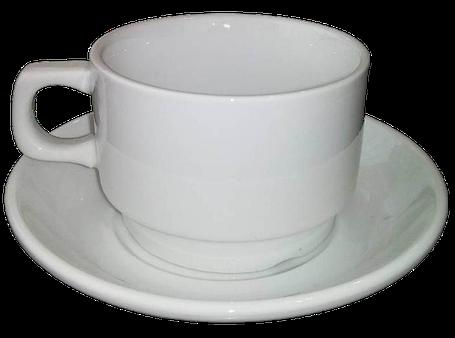 Набор для капучино Helios Чашка 200 мл + блюдце. HR1301, фото 2