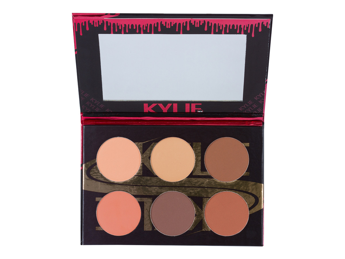 Сухой корректор для лица KYLIE Contour Kit (6 оттенков) | 1099
