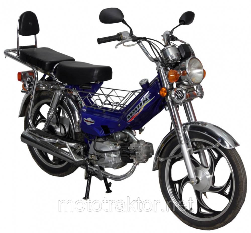 Мотоцикл SP110C-A Дельта(4т., 110см3, корзина, спинка, подножка)