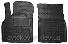 Полиуретановые передние коврики в салон Renault Scenic III 2009-2016 (AVTO-GUMM)