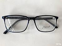 Окуляри для стилю квадратні сині Модель 2054, фото 1