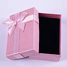 """Коробочка под набор """"Геометрия с бантом розовая 8 х 5 х 2,5 см"""", фото 4"""