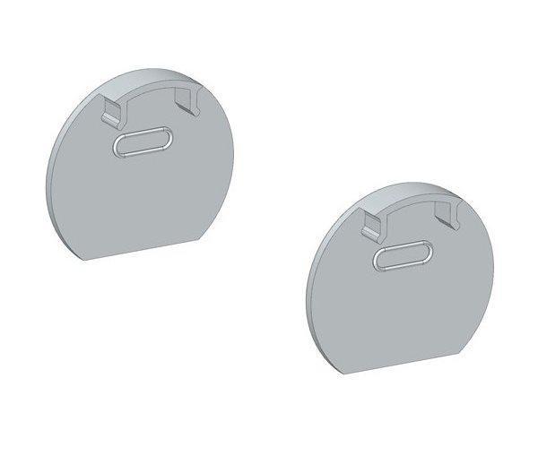 Заглушка для ЛСК профілю комплект 2 шт.