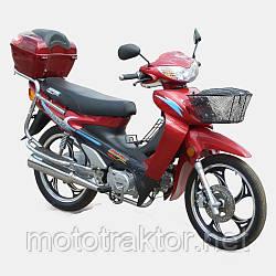 Мотоцикл SP110С-3(4т., 107см3,  задний багажник, подножка)