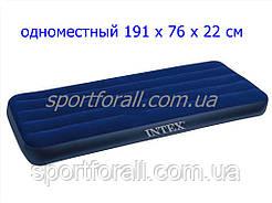 Велюровый матрас надувной Intex 68950, 76см