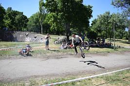Велодень 2018. Провели соревнования по BMX, наградили победителей.