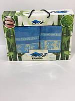 Бамбуковый набор полотенец Турция Moz в подарочной коробке