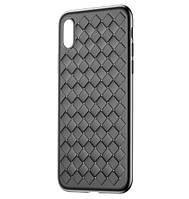 Чехол Baseus BV Weaving для Apple iPhone X - Black (WIAPIPHX-BV01), фото 1
