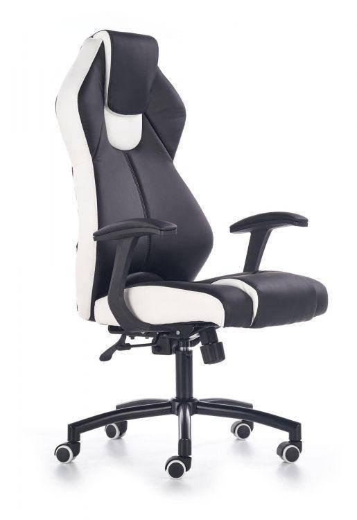 Компьютерное кресло TORANO черный/белый Halmar