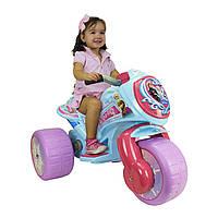 Электромотоцикл трехколесный детский frozen 6v   Injusa 72988