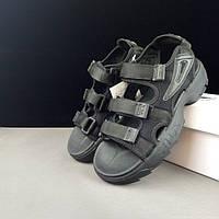 Мужские Сандалии Fila disruptor 2 sandal Black (реплика)