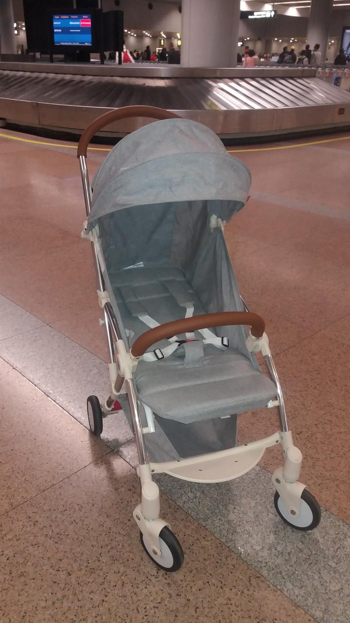летняя прогулочная коляска кинг мун