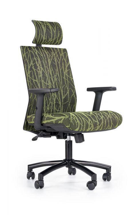 Компьютерное кресло TROPIC черный/зеленый Halmar