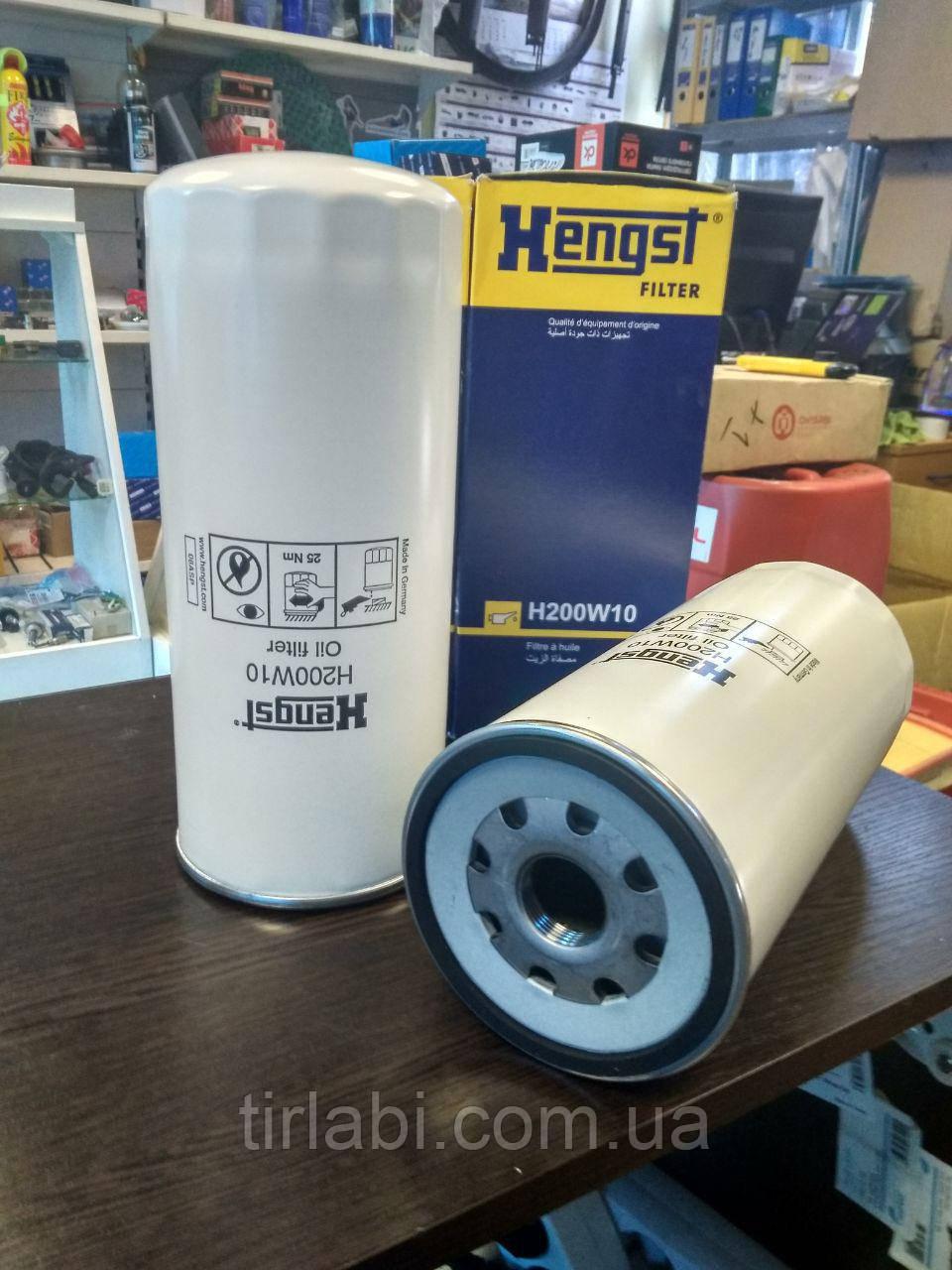 Фильтр масляный VOLVO FH12 RENAULT Premium Magnum H200W10