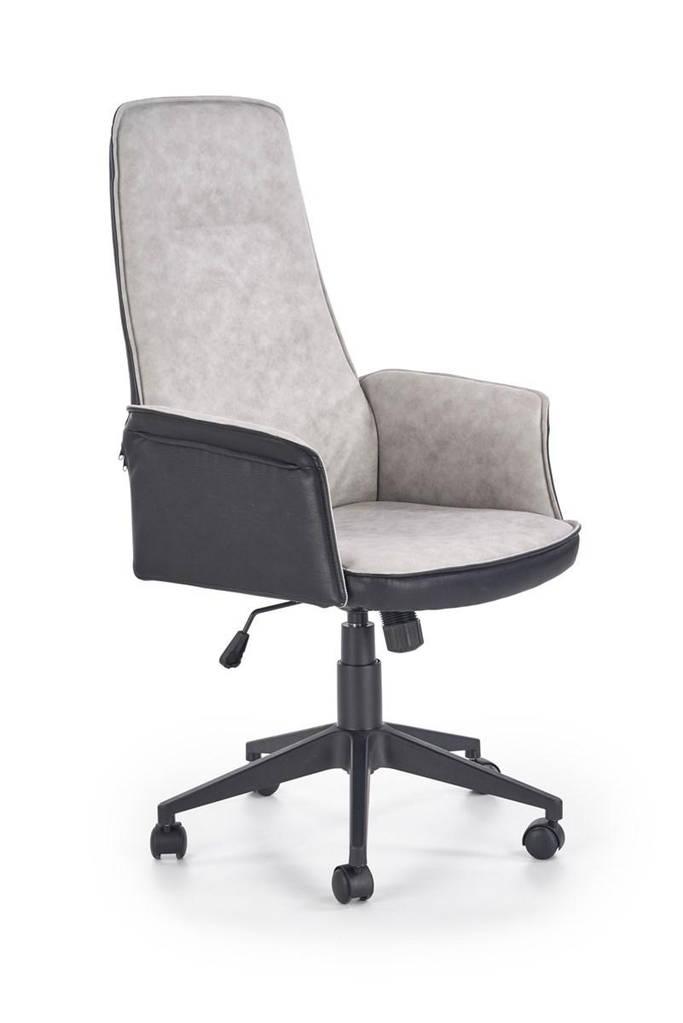 Компьютерное кресло TUCSON черный/серый Halmar
