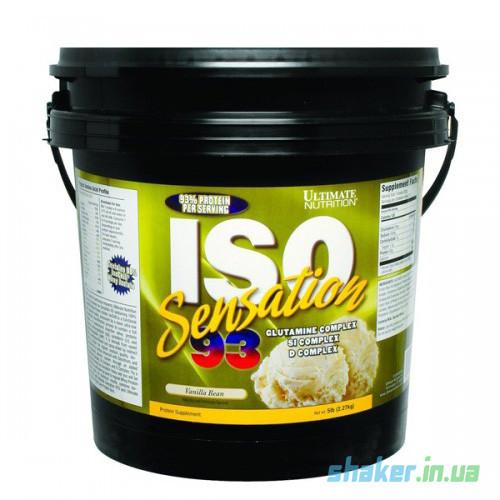 Сывороточный протеин изолят Ultimate Nutrition ISO Sensation (2,27 кг) ультимейт исо сенсейшн  vanilla bean