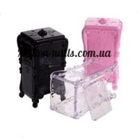 Пластиковая подставка для бумаг и салфеток,цветные