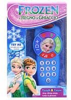 Детский игрушечный телефон Frozen