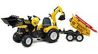 Детский педальный трактор Falk Powerloader 1000WH