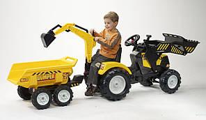 Детский педальный трактор Falk Powerloader 1000WH, фото 2