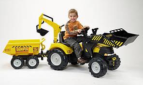 Детский педальный трактор Falk Powerloader 1000WH, фото 3