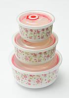 Контейнеры для хранения пищи Home Essentials 3pcs 10690, фото 1