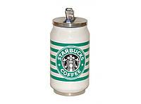 Кружка-банка Starbucks с поилкой-трубочкой 300мл.