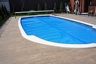 Солярная пленка для бассейна 500 микрон, купить, Киев, голубая пленка
