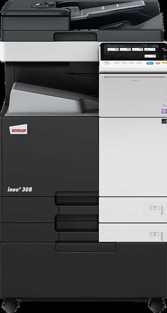МФУ DEVELOP ineo+ 308  (А3/ SRA3/ banner, полноцветный сетевой принтер, копир, сканер, дуплекс )