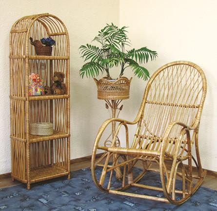 Кресло-качалка из лозы КК-4
