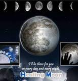 Светильник - ночник Луна на стену (Healing Moon), фото 4