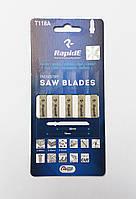 Полотна для электролобзика по металлу, 5 шт., Rapide (T118A)