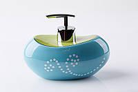 Дозатор для жидкого мыла Маисон синий, фото 1