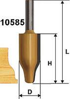 Фреза фигирейная вертикальная ф25.4х41.3, хв.12мм (арт.10585)