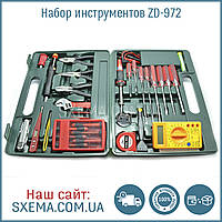 Набор радиотехнических  инструментов Zhongdi ZD-972 в кейсе, фото 1
