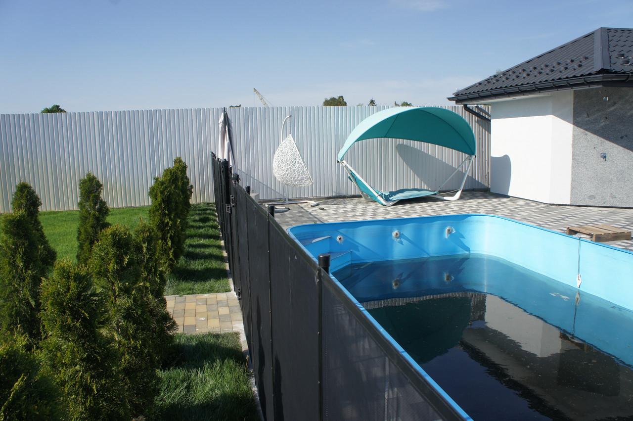Секция ограждения для дома, сада и бассейна 4.55 м