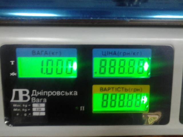 весы торговые ВТЕ Центровес 15Т1 ДВЭ