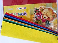 Бумага Цветная Фетр А4 Набор 8 л. TZ10119 Китай