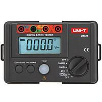 UNI-T UT-521 Цифровой тестер заземления Наземный измеритель сопротивления изоляции Ом Омметр Meter 2000Ω