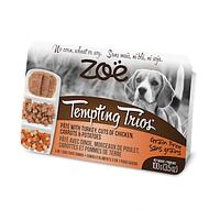 Консервы ZOE Tempting Trios собак индейка и курица 0.100 кг.