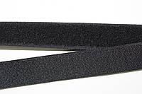 Липучка, велкро 25мм (25м) черная