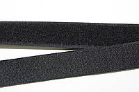 Липучка, велкро 30мм (25м) черная