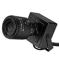 720p 1.0Mp мини IP камера ONVIF 2.8-12мм ручной варифокальным зум-объектив p2p с кронштейном сетевой камеры