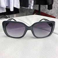 Женские солнцезащитные имиджевые очки Chanel Sunglasses Butterfly Doble C  Tile Gray Black 1ada64fb67717