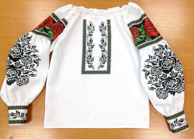 ПЖВ-2. Пошита жіноча вишиванка