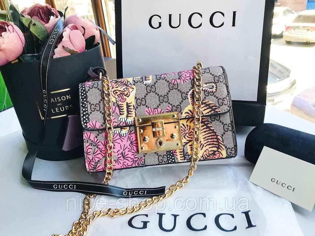 Сумка Gucci с тиграми