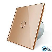 Бесконтактный диммер Livolo | цвет золотой, материал стекло (VL-C701D-PRO-13)