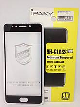 Защитное стекло 4D Ipaky Meizu M6 Note Black